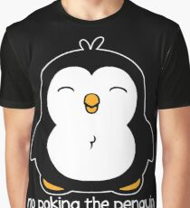 No Poking The Penguin Graphic T-Shirt