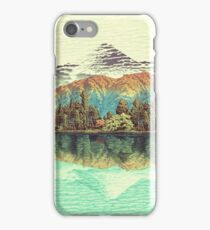 The Unknown Hills in Kamakura iPhone Case/Skin