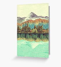 The Unknown Hills in Kamakura Greeting Card
