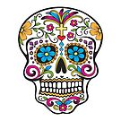 Skull Day of the Dead  by Patricia Johnson