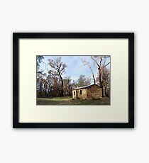 Fire after effects at the Grampians Framed Print
