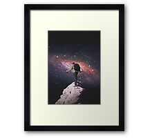 Space tourist Framed Print