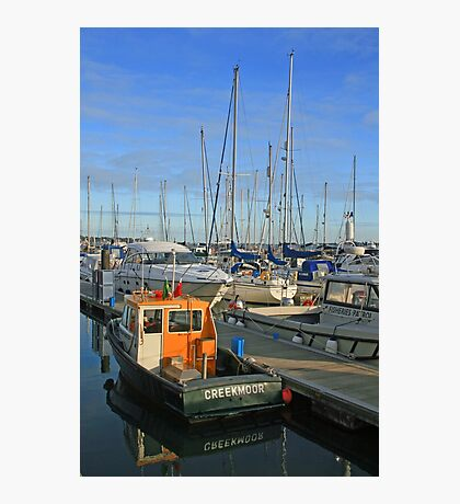 Poole Quay Boat Haven Photographic Print