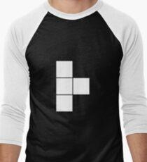 T Tetromino (the Tetris serie) Men's Baseball ¾ T-Shirt