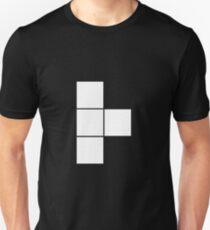 T Tetromino (the Tetris serie) Unisex T-Shirt