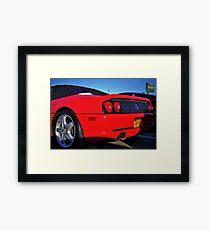Super Car RED Framed Print