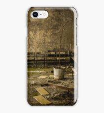 Chernobyl Hospital Waiting Room iPhone Case/Skin