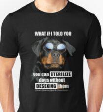 Dog Spay/Neuter Alternative Unisex T-Shirt