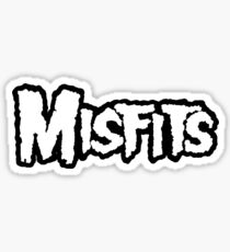 Misfit Name Sticker