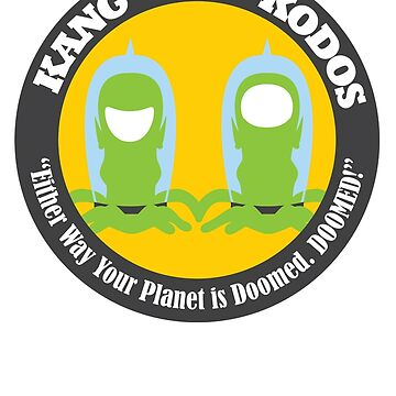 Vote Kang - Kodos '16 — Sticker by fohkat