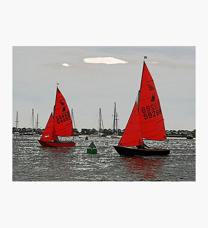 Red Sails Photographic Print