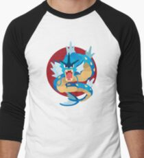 Gyarados - Basic Men's Baseball ¾ T-Shirt