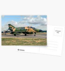 McDonnell RF-4C Phantom II 68-0568/AR Postcards