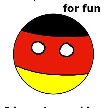 Deutscher Countryball von Nargren