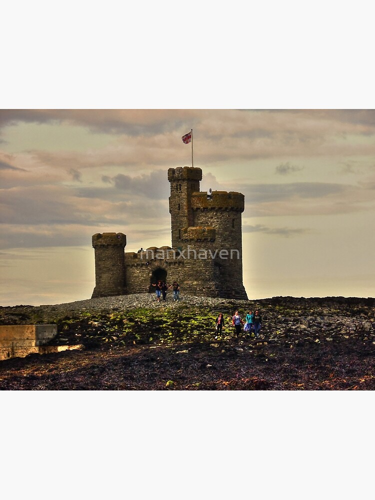 Walk to the Tower of Refuge by manxhaven