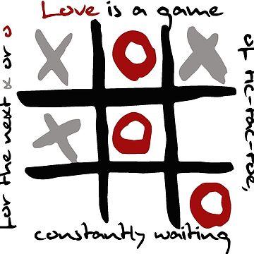 Tic-tac-toe Love by roastedseaweed