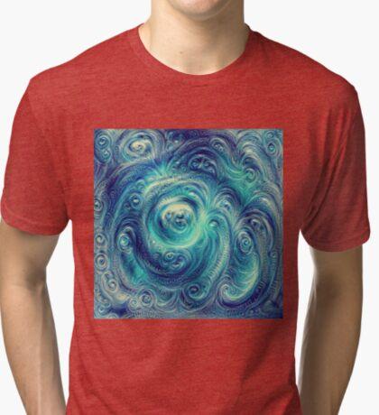 Cyclone #DeepDream Tri-blend T-Shirt
