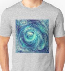 Cyclone #DeepDream Slim Fit T-Shirt