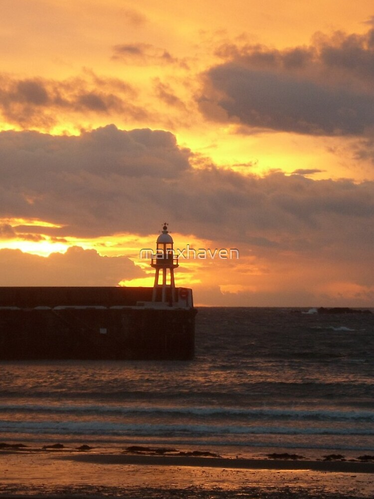 Port Erin Sunset by manxhaven