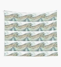 Dirt road in the Himalayas Wall Tapestry