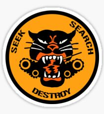 US TANK DESTROYER BATTALION - WW2 Sticker