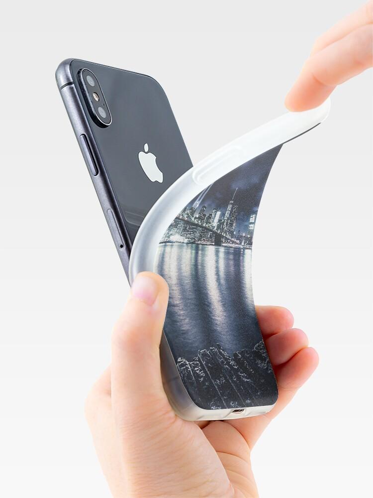 Alternative Ansicht von Nyc Skyline für 11 September iPhone-Hülle & Cover
