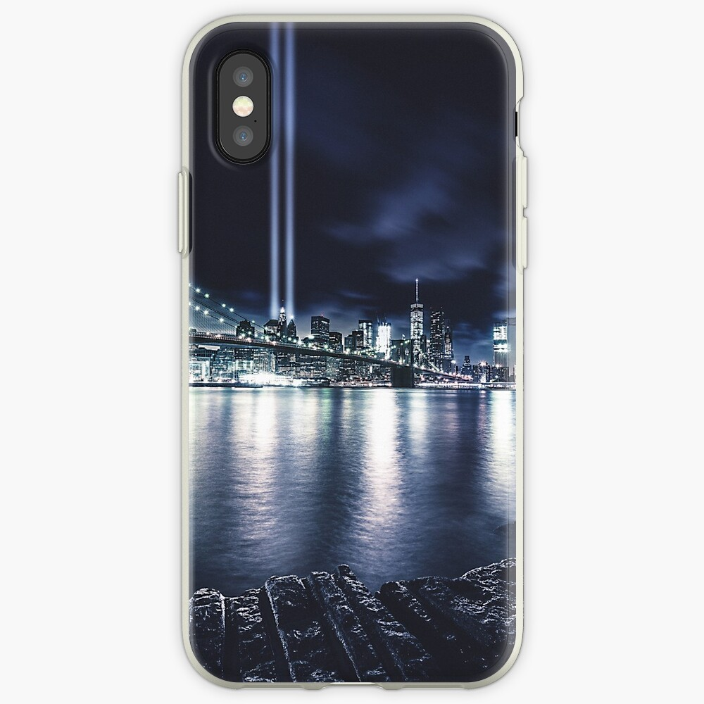 Nyc Skyline für 11 September iPhone-Hülle & Cover