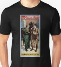 Performing Arts Posters Cecil Raleigh Seymour Hicks great English play Sporting life 1483 T-Shirt