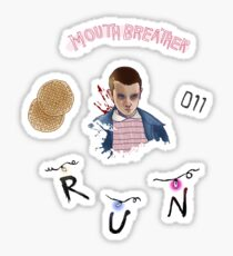 Stranger Things Sticker Sheet  Sticker