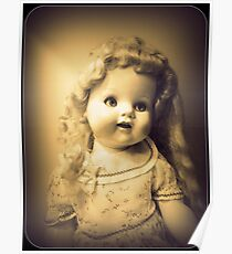 Antique Dolly Poster