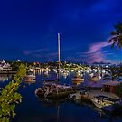 Hamilton Harbours Blue Hour,Bermuda.. by buddybetsy