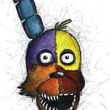 FNAF drawing by PsychoLunatic
