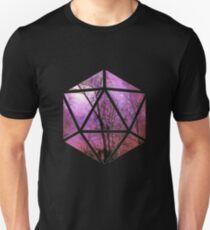 Purple trees d20 Unisex T-Shirt