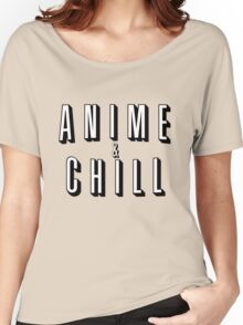 Anime & Chill Women's Relaxed Fit T-Shirt