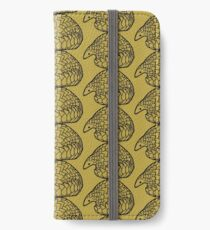 Save the Pangolins iPhone Wallet