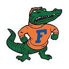 Vintage Florida Gator by Megan Carney