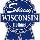Wisconsin Skinny Blue Badge of Honor by wisconsinskinny
