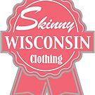 Wisconsin Skinny Pink Badge of Honor by wisconsinskinny