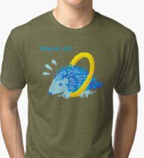 bluehog ringpants Tri-blend T-Shirt