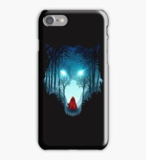 Big Bad Wolf (dark version) iPhone Case/Skin