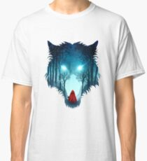 Big Bad Wolf (dark version) Classic T-Shirt