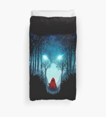 Big Bad Wolf (dark version) Duvet Cover