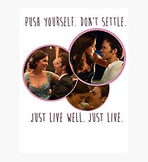 ME BEFORE YOU Photographic Print