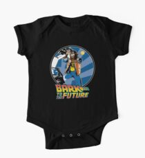 Bark to the Future One Piece - Short Sleeve