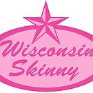 Wisconsin Skinny Logo Pink by wisconsinskinny