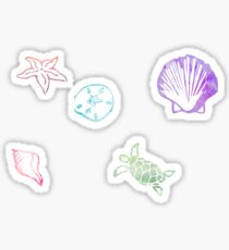 Seashells by the Seashore Sticker