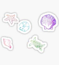 Seashells by the Seashore Sticker