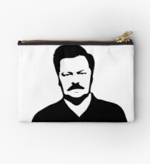 Ron Swanson - Parks and Recreation Studio Pouch