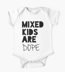 Mixed Kids Are Dope One Piece - Short Sleeve