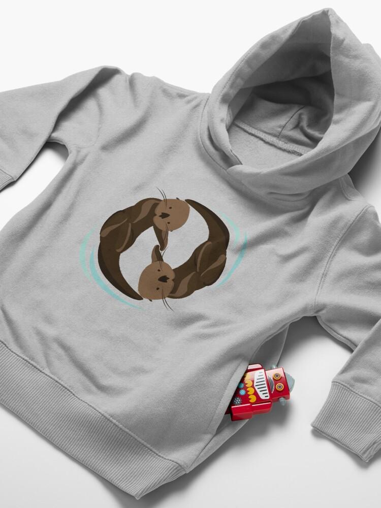 Alternative Ansicht von Otterfreunde Kleinkind Hoodie